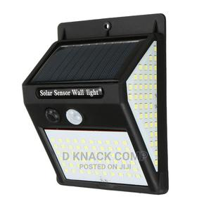 Human Body Induction 140 LED Solar Wall Light Motion Sensor   Solar Energy for sale in Lagos State, Lekki