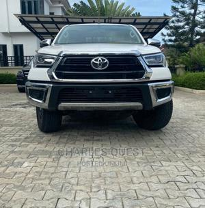 New Toyota Hilux 2021 White   Cars for sale in Abuja (FCT) State, Wuye