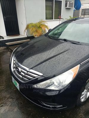 Hyundai Sonata 2010 Black | Cars for sale in Lagos State, Ajah