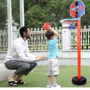 Children Basketball Playing Set Adjustable Basket Outdoor | Toys for sale in Lagos State, Lagos Island (Eko)