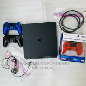 Hacked Slim Ps4 Consoles With Ten Installed Games | Video Game Consoles for sale in Lagos State, Ikeja