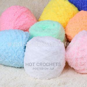 Coral Fleece Fluffy Wool | Arts & Crafts for sale in Ogun State, Sagamu