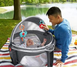On the Go Baby Dome Bed/Bassinet | Children's Gear & Safety for sale in Lagos State, Ikoyi