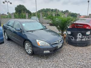 Honda Accord 2007 Sedan EX-L V-6 Automatic Gray | Cars for sale in Abuja (FCT) State, Apo District