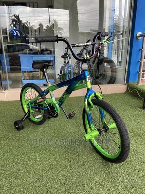"Genesis 18"" Glitch Boy's BMX Bike, Blue/Green | Toys for sale in Lagos State, Alimosho"