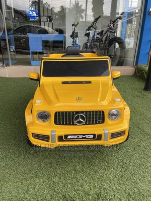 12V Licensed Mercedes-Benz G63 Kids Ride on Car Yellow | Toys for sale in Lagos State, Alimosho