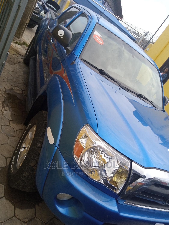 Toyota Tacoma 2008 4x4 Double Cab Blue   Cars for sale in Amuwo-Odofin, Lagos State, Nigeria
