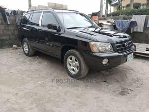 Toyota Highlander 2003 V6 FWD Black   Cars for sale in Lagos State, Ajah
