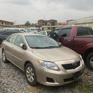 Toyota Corolla 2010 Gold   Cars for sale in Lagos State, Agege