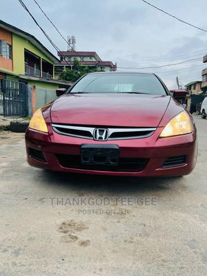 Honda Accord 2007 2.4 Red | Cars for sale in Lagos State, Surulere