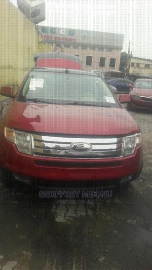 Ford Edge 2007 SE 4dr AWD (3.5L 6cyl 6A) Red   Cars for sale in Lagos State, Surulere