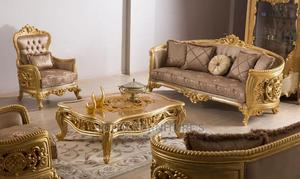 Royal Sofas Chair With Centre Table   Furniture for sale in Lagos State, Amuwo-Odofin