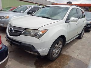 Acura MDX 2008 SUV 4dr AWD (3.7 6cyl 5A) White | Cars for sale in Lagos State, Ikeja