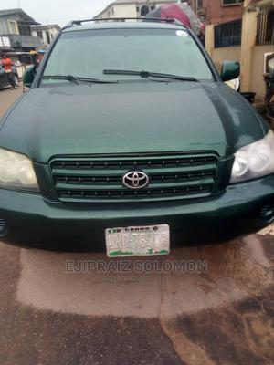 Toyota Highlander 2004 Limited V6 4x4 Green | Cars for sale in Lagos State, Surulere