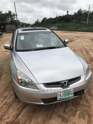 Honda Accord 2005 2.4 Type S Automatic Silver | Cars for sale in Ondo State, Akure
