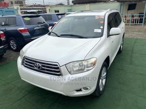 Toyota Highlander 2008 Limited 4x4 White   Cars for sale in Lagos State, Ilupeju