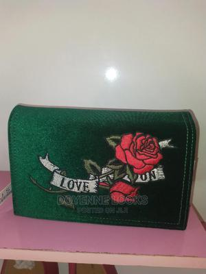 Love You Suede Handbag | Bags for sale in Delta State, Oshimili South
