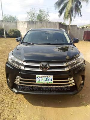 Toyota Highlander 2018 XLE 4x4 V6 (3.5L 6cyl 8A) Black | Cars for sale in Lagos State, Victoria Island