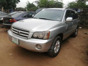 Toyota Highlander 2002 V6 AWD Silver | Cars for sale in Lagos State, Magodo