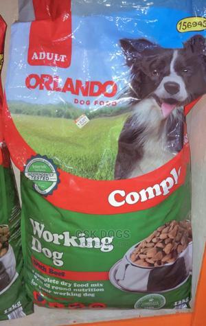 Orlando Dog Dry Food 12kg | Pet's Accessories for sale in Lagos State, Ikorodu