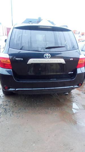 Toyota Highlander 2008 Black | Cars for sale in Lagos State, Ifako-Ijaiye