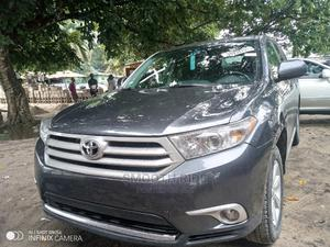 Toyota Highlander 2013 3.5L 4WD Gray   Cars for sale in Lagos State, Ajah