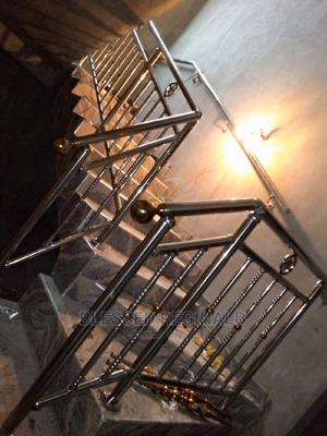 Gold Stainless Steel Handrail | Building Materials for sale in Lagos State, Victoria Island