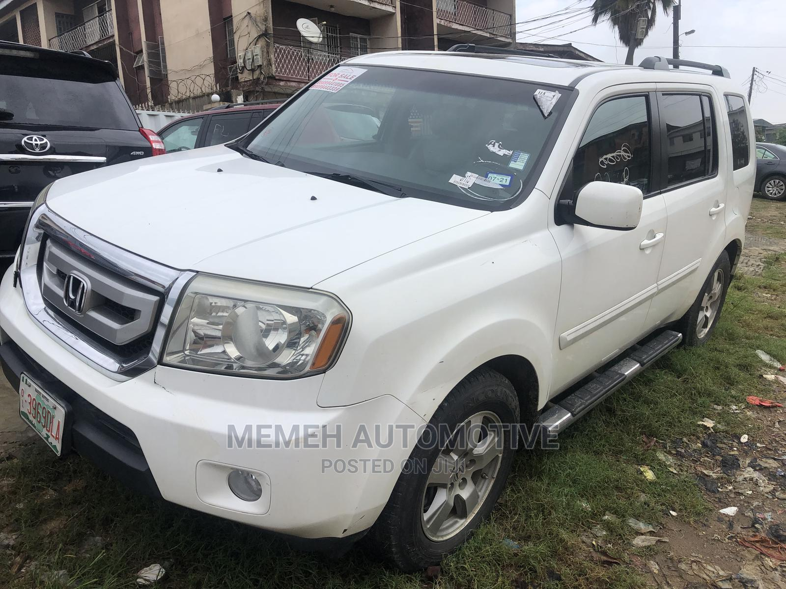 Honda Pilot 2010 White | Cars for sale in Apapa, Lagos State, Nigeria