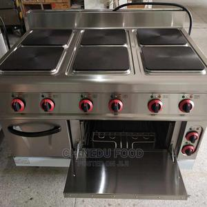 6 Burners Electric Cooker With Oven | Restaurant & Catering Equipment for sale in Lagos State, Lekki