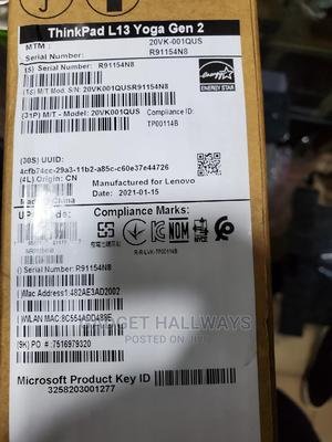 New Laptop Lenovo ThinkPad Yoga 8GB Intel Core I5 SSD 256GB | Laptops & Computers for sale in Lagos State, Ikeja