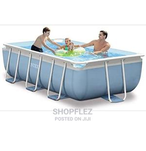 13 by 6 Prism Frame Swimming Pool With Ladder and Filter   Sports Equipment for sale in Lagos State, Ikeja