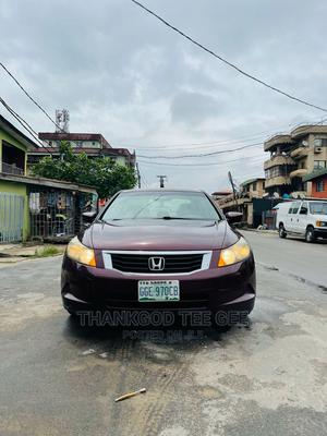 Honda Accord 2008 2.4 EX Red | Cars for sale in Lagos State, Surulere