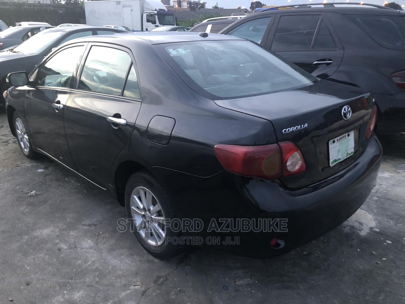 Toyota Corolla 2010 Black | Cars for sale in Port-Harcourt, Rivers State, Nigeria