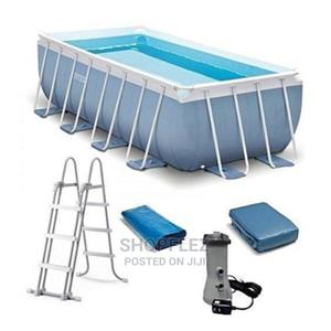16 by 8 by 42 Prism Swimming Pool With Ladder and Filter   Sports Equipment for sale in Lagos State, Ikeja
