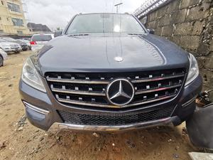 Mercedes-Benz M Class 2012 ML 350 4Matic Gray   Cars for sale in Lagos State, Amuwo-Odofin