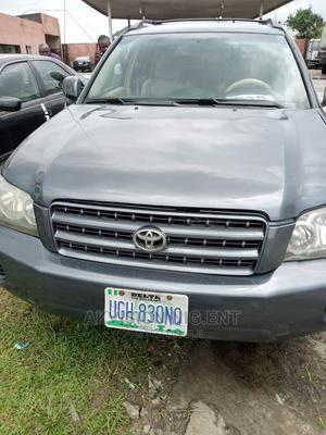 Toyota Highlander 2005 Grey | Cars for sale in Delta State, Warri