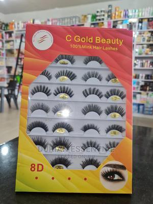 C Gold Beauty 100% Human Hair Eye Lashes | Makeup for sale in Kaduna State, Kaduna / Kaduna State