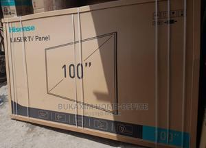 "100"" Hisense Laser 4K UHD Tv With Subwoofer | TV & DVD Equipment for sale in Lagos State, Ikeja"
