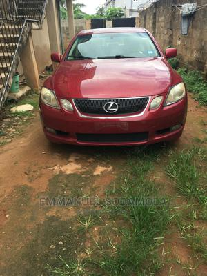 Lexus GS 2006 300 AWD Red | Cars for sale in Lagos State, Abule Egba