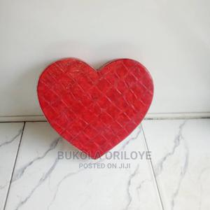 Red Heart Shaped Box | Arts & Crafts for sale in Lagos State, Surulere