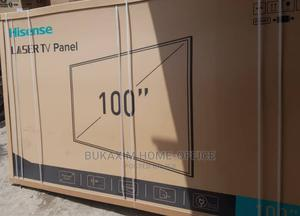 """100"""" Hisense Laser 4K Ultrahd Tv With Subwoofer Projector 