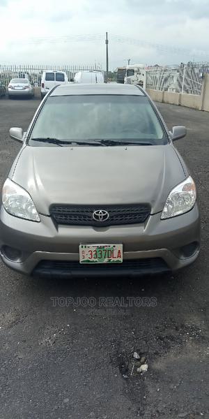 Toyota Matrix 2005 Gray   Cars for sale in Ogun State, Ifo