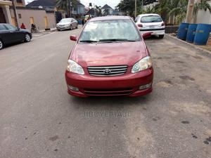 Toyota Corolla 2004 S Red | Cars for sale in Lagos State, Abule Egba
