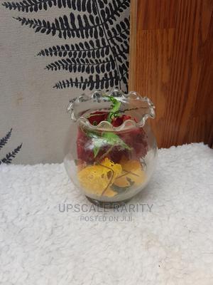 Transparent Glass Flower Vase | Garden for sale in Lagos State, Ikeja