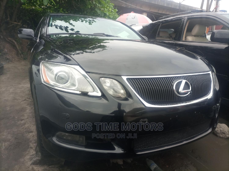 Lexus GS 2009 350 Black | Cars for sale in Apapa, Lagos State, Nigeria