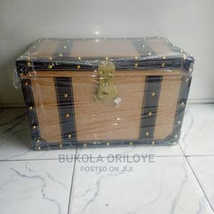 Dark and Light Brown Gift Trunk | Arts & Crafts for sale in Lagos State, Surulere