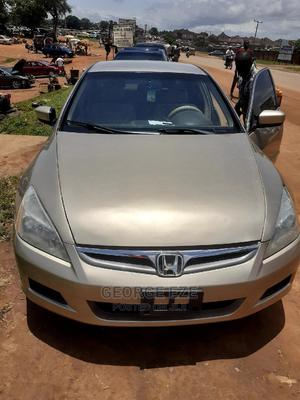 Honda Accord 2007 Gold   Cars for sale in Abuja (FCT) State, Apo District