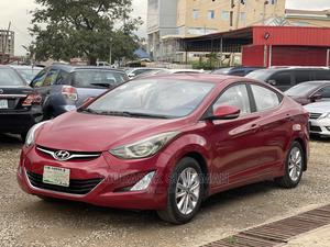 Hyundai Elantra 2013 Red   Cars for sale in Abuja (FCT) State, Jahi