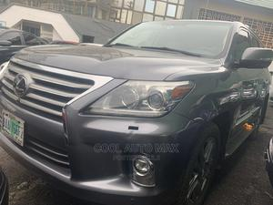 Lexus LX 2014 570 AWD Gray | Cars for sale in Lagos State, Ikeja