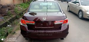 Honda Accord 2010 Sedan EX-L V-6 Red | Cars for sale in Lagos State, Ikeja